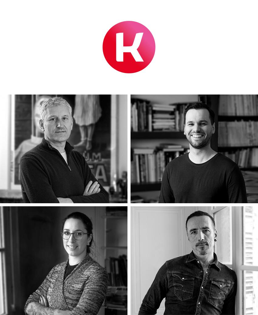 equipe agence de communication design tours