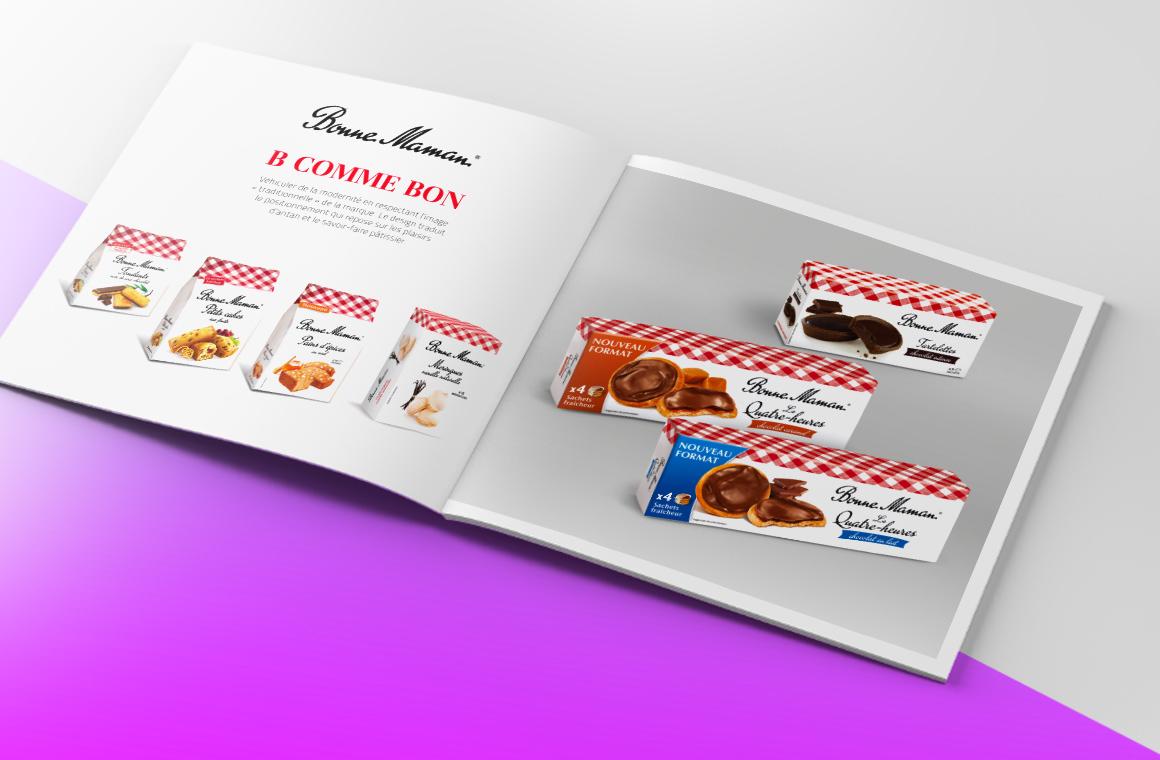 Agence Kubilaï Design graphique et design packaging identité de marque communication visuelle à Tours centre val de Loire logotype identité visuelle stratége de marque Bonne Maman