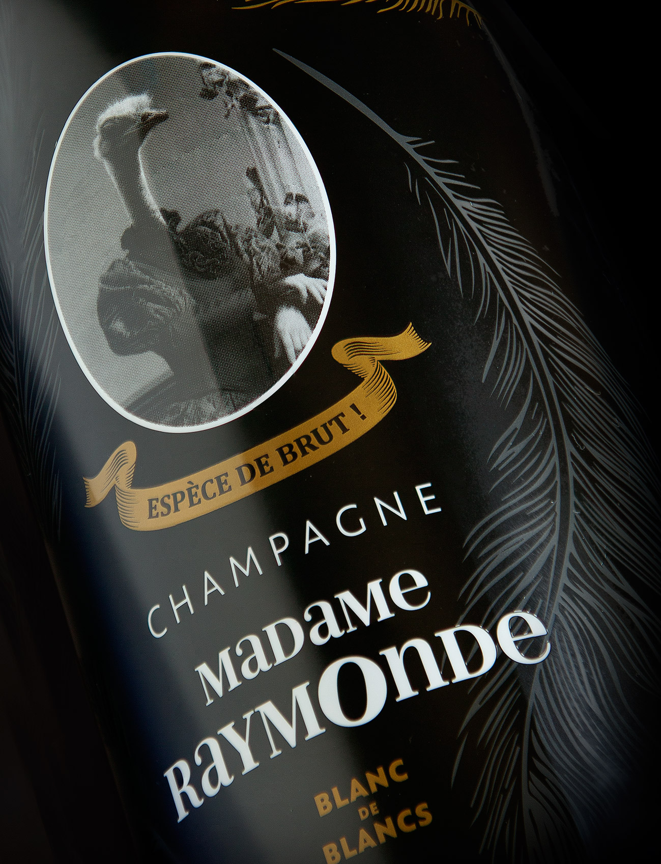 madame raymonde champagne agence kubilai design packaging
